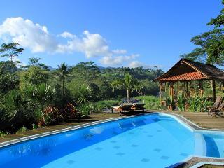 Tepi Sungai Guest House & Restaurant - wooden room - Sidemen vacation rentals