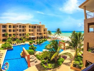 Ocean Front Condo with Sunrise and Ocean Breeze at El Faro Playa del Carmen - Playa del Carmen vacation rentals