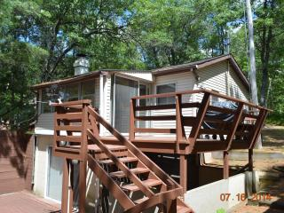 Nice Cabin with Deck and Waterfront - Barnes vacation rentals