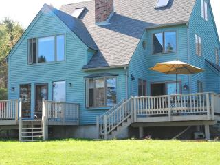 Oceanfront 200' private shore, sunrise over Acadia - Bar Harbor vacation rentals