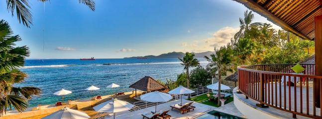 Spectacular villa with sea view in Bali, 4 bdr - Bali vacation rentals