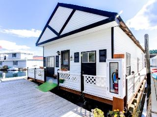 Perfect waterfront fishing retreat floating in the Bayview marina! - Bayview vacation rentals