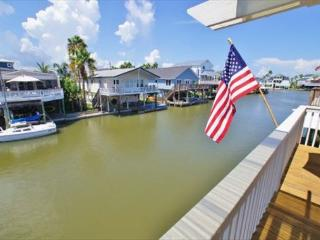 Canal front in Jamaica Beach - bring your boat! - Galveston vacation rentals