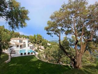 Private beach, stunning views, pool, hot tub & dock - Villa Ferretti has it all - Corfu vacation rentals
