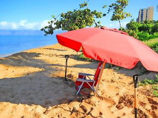 Best Maui Resort! Luxury Beachfront Condo with All the Extras - Laulea Reach at 722 Hokulani - Kaanapali vacation rentals