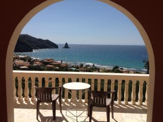 Panoramic Sea View Aprtm near beach  for 4 - 11 p - Agios Gordios vacation rentals