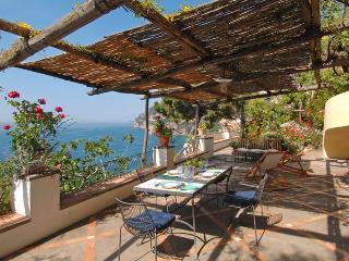 Positano seafront villa: - Positano vacation rentals