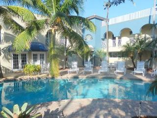 Beachfront, Pool View 2/2 for 7 guests Shared Heated Pool Blue Ocean Villa 1 - Pompano Beach vacation rentals