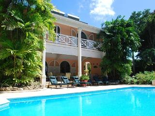 Located on the exclusive Sandy Lane Estate, the second floor of this villa houses a minstrel's gallery. RL DEN - Gibbes vacation rentals