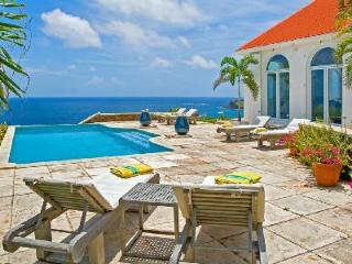 Elegant one-level Beverly villa with large terrace opens to the view & large pool - Mont Jean vacation rentals