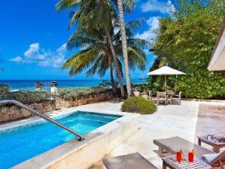 Enchanting oceanfront Leamington Cottage with divine views & plunge pool - Speightstown vacation rentals