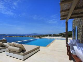 Bay-view Villa Agassi with cook, pool, verandas & access to secluded beach - Aliki vacation rentals