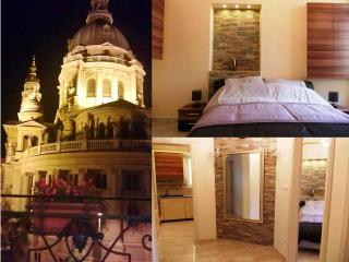 Two Bedrooms Luxury Flat With Magnificent Views Of The St Stephen's Basilica. - Budapest vacation rentals