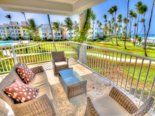Beachfront 2 Bedroom Bedroom Apartment T-I202 - Bavaro vacation rentals
