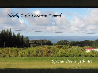 Newly Built! Big Ocean View, Quiet Country Setting - Papaaloa vacation rentals