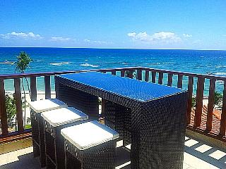 Beachfront 2 Level 3 Bedroom Penthouse 3 BR / 3BA / Sleeps 8 - Juan Dolio vacation rentals