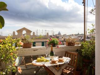 Bright & Panoramic Penthouse near Vatican St.Peter - Rome vacation rentals
