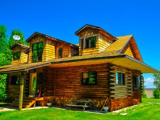 Rustic Lakefront Loghouse on 5 acres in Traverse Bay, MB near Victoria Bch - Traverse Bay vacation rentals