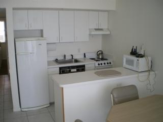 Kitchen - Check out that beautiful view from the balcony of this beachfront Condo ! - Marco Island - rentals