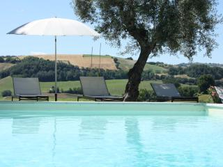 Private Villa, 8 sleeps, pool, wi-fi, Macerata - Montedinove vacation rentals
