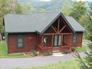 New Log Cabin!!! Dates available for the Fall Colors...Perfect Location. Gas Logs, Views, Hiking. - Burnsville vacation rentals