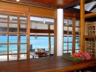 Fare Parata - Bungalow sur la plage à Moorea - Haapiti vacation rentals