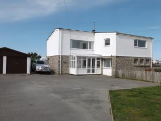 Sandown House, beach front property Trearddur Bay - Trearddur Bay vacation rentals