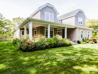 WALSB - New Contemporary Luxury Home,  Heated Pool 18 x 40, Luxury Amenities, Central A/C Levels one and two,  Screened Porch, P - Edgartown vacation rentals