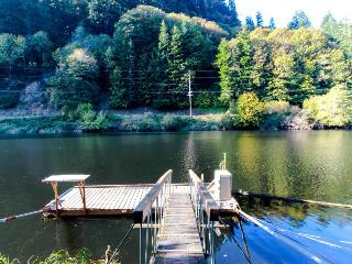 Recently remodeled home on the Alsea River w/ private dock! - Waldport vacation rentals