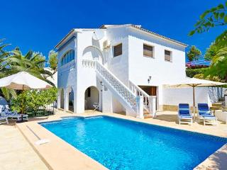 2 bedroom Villa in Alicante, Benissa, Costa Blanca, Spain : ref 2036191 - La Llobella vacation rentals