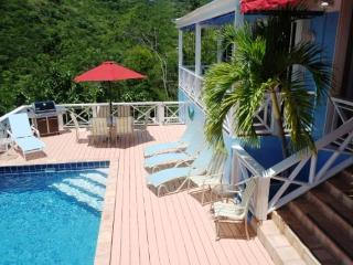 Calypso Blu at Frenchmans Bay Estates, South Side, St. Thomas - Ocean View, Overlooking Beach, Close - Frenchman's Bay vacation rentals