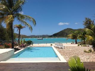 Out of the Blue Beach House - Jolly Harbour, Antigua - Beachfront, Gated Community, Pool - Jolly Harbour vacation rentals