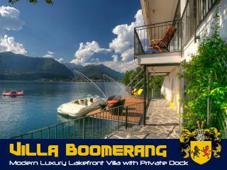 "Exquisite waterfront Lake Orta Villa ""Boomerang"" - Orta San Giulio vacation rentals"