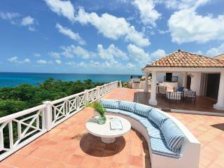 Villa L'Olivier St. Martin Villa 298 From Any Vantage Point Along The Lengthy Sea-facing Deck You Feel Like You're On Top Of The - Terres Basses vacation rentals