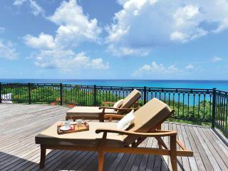 Villa L'Olivier St. Martin Villa 300 From Any Vantage Point Along The Lengthy Sea-facing Deck You Feel Like You're On Top Of The - Terres Basses vacation rentals