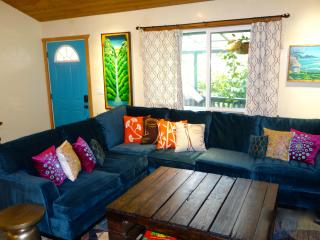 5 bedroom ocean view home - walk to town and beach - Paia vacation rentals