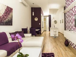 Luxury one bedroom apartment with beautiful view - Budapest vacation rentals