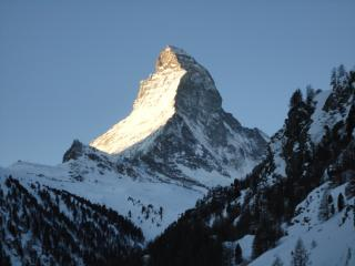 Stunning view of the Matterhorn apartment - Zermatt vacation rentals