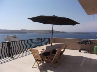 Stelle Marine Court, Penthouse - Bugibba vacation rentals