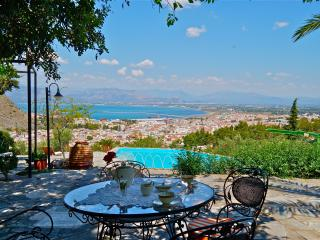 Nafplio Villa with Pool 10 persons + disabled - Nauplion vacation rentals