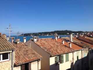 Seaview from  rooftop terrace beach 200mtrs 3 bed - Antibes vacation rentals