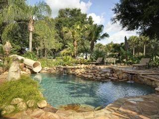Private Gated Mansion and Activity Park, set on a 62 acre Island! Swimming pool and games room - Clermont vacation rentals