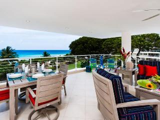 2 Bedroom condo at Palm Beach, Hastings has stunning views of the landscaped gardens and beautiful Ocean - Christ Church vacation rentals