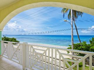 A wonderful opportunity to vacation in this beachfront duplex on the West Coast of the island with spacious living area and balc - Saint Peter vacation rentals