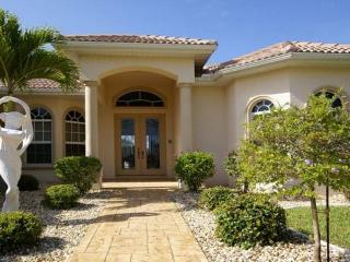 3 bedrooms- Terrific river access luxury villa- Boat dock- Tastefully furnished- Private pool - Cape Coral vacation rentals