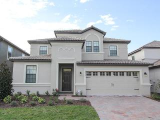 Stylish Championsgate luxury villa has a Games room- Private pool- Spa- 7 beautiful bedrooms - Loughman vacation rentals
