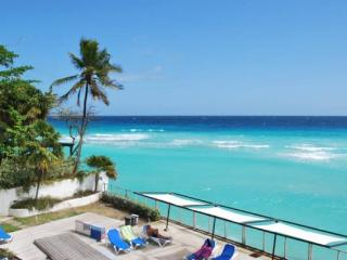 Modern two bedroom Beachfront Condo, entertaining and dining spot in Barbados and only 2 miles away from Bridgetown - Saint Lawrence Gap vacation rentals