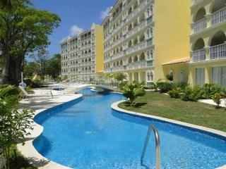 Classic 2 bedroom apartment situated on the stretch of Dover beach with a private terrace, great views of the Caribbean Sea - Dover vacation rentals