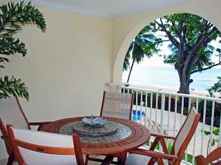 Classic 2 bedroom apartment, private terrace, with views of the Caribbean Sea - Saint Lawrence Gap vacation rentals