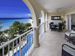 Classic 3 bedroom apartment, located on the beach, overlooking the Caribbean Sea - Saint Lawrence Gap vacation rentals